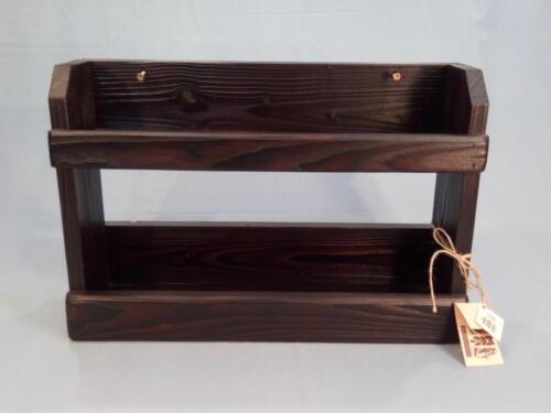 A7, závěsná polička, smrk, opálené dřevo, vhodné na kořenky, klíče, dopisy atd. D - 45 cm, v - 31 cm - 650 Kč